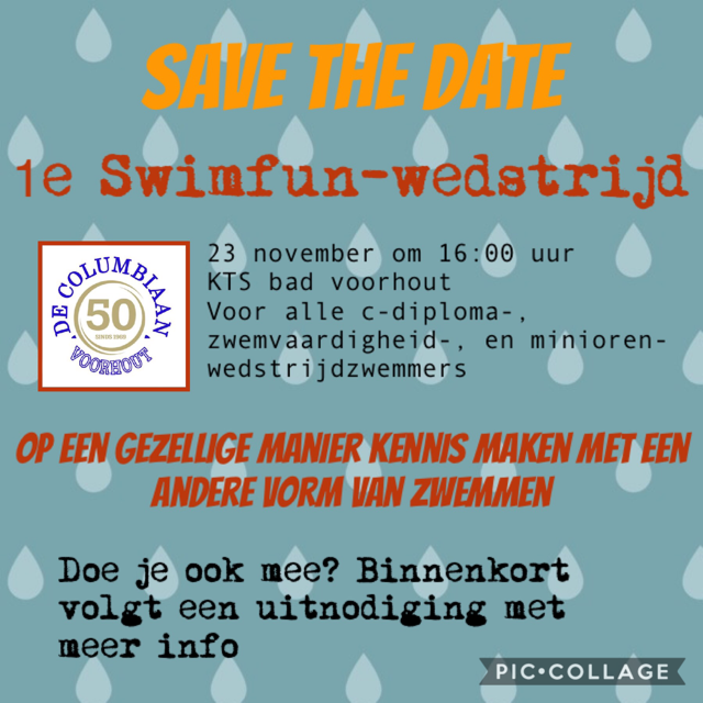 SwimFun 2019 11 23 Save the date
